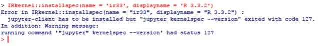 irkernel-error